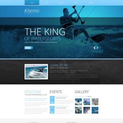 Kitesurfing Responsive Website Template