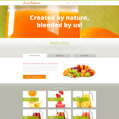 Food & Drink Responsive WordPress Sablon