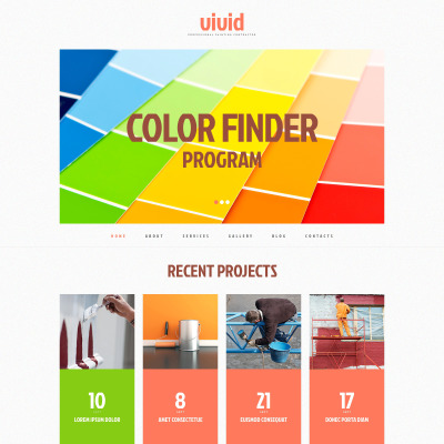 Painting Company Responsive WordPress Theme