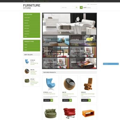 Responsives Shopify Theme für Möbel
