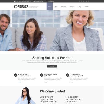 Thème WordPress adaptatif  pour site de relations publiques