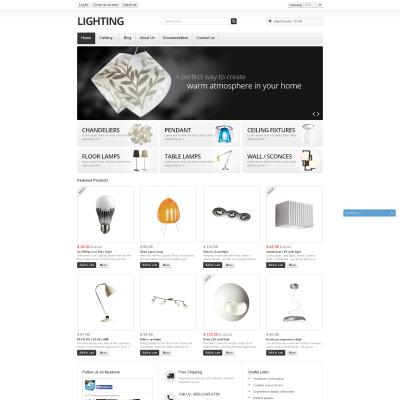 Responsives Shopify Theme für Wohnung Decoration