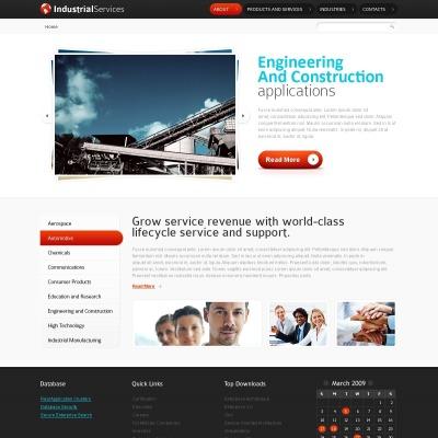 Industrial Шаблон сайту