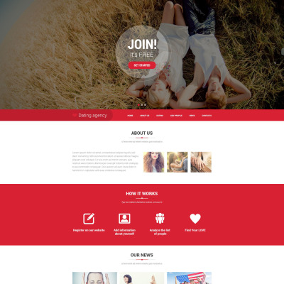 Html dating site
