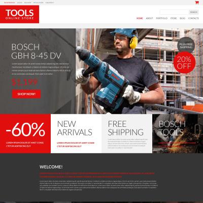 Tools & Equipment Responsive WooCommerce Motiv