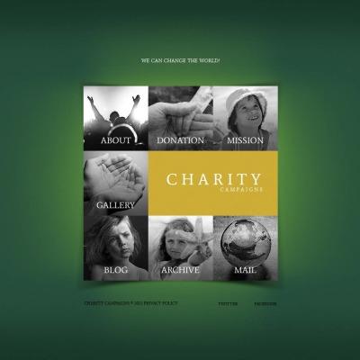 Child Charity Moto CMS HTML模板