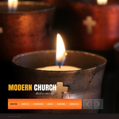 Religious Moto CMS HTML模板