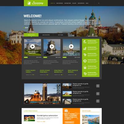 Responsives WordPress Theme für Reiseführer