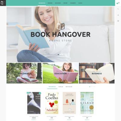 Book Store Responsive PrestaShop шаблон