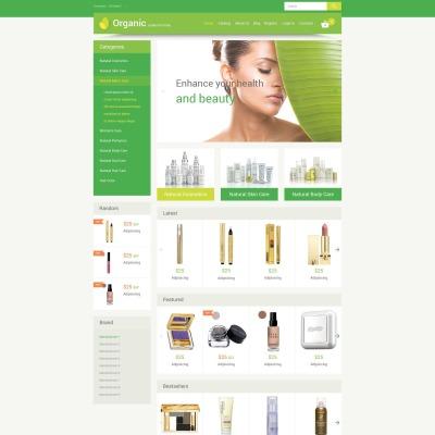 Responsive VirtueMart Vorlage für Kosmetik-Geschäft