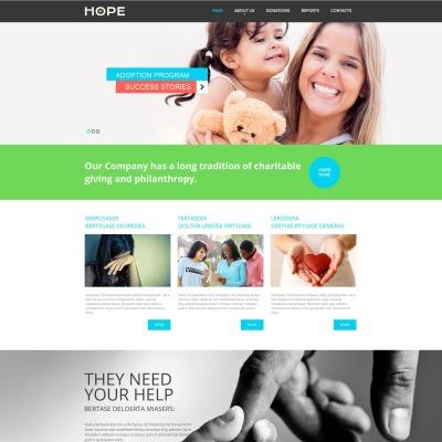 Charity Moto CMS HTML模板