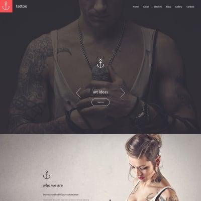 Tattoo Salon Responsive Drupal Template