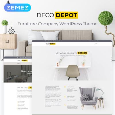 Furniture Responsive WordPress шаблон