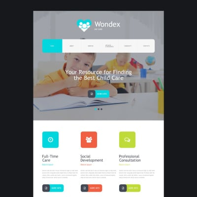 Day Care Muse Template