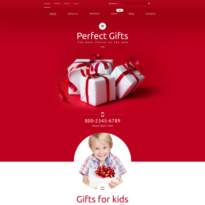 Gifts Store Responsive WooCommerce Motiv