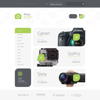Photo Lab Responsive OpenCart šablona