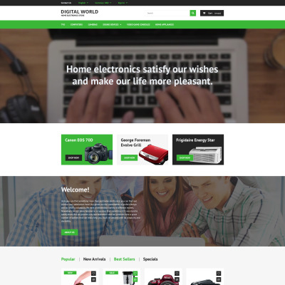 Electronics Store PrestaShop Theme