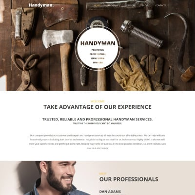 Home Remodeling Responsive WordPress Theme