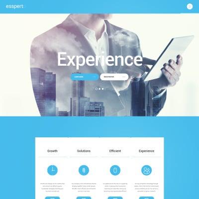 Business Responsive WordPress шаблон