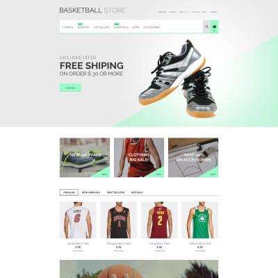 Basketball Responsive PrestaShop Theme