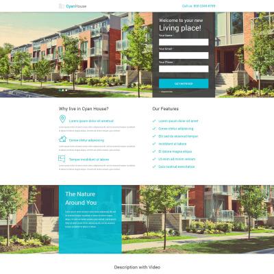 Real Estate PSD šablona