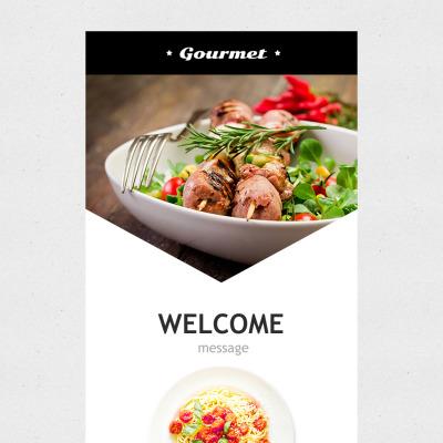 Cafe and Restaurant Responsive Nieuwsbrief Template