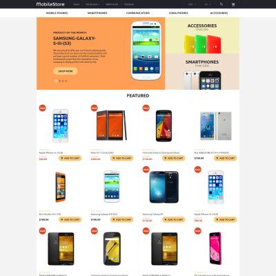 Mobile Store Responsive OpenCart šablona