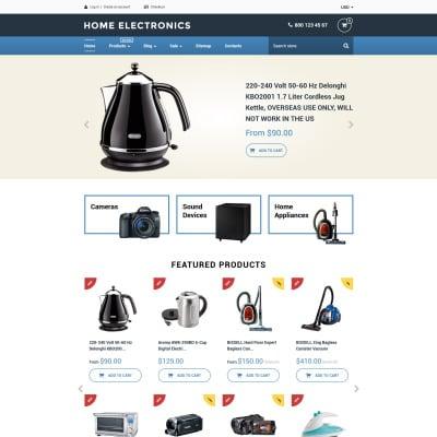 Electronics Store Responsive Shopify шаблон
