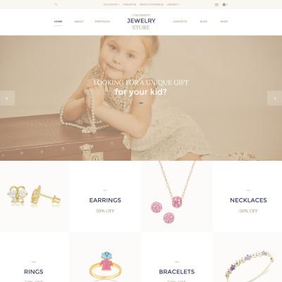 Jewelry Responsive OpenCart šablona