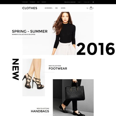 Fashion Store Magento шаблон