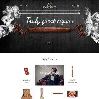 Tobacco Responsive PrestaShop Motiv