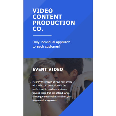 Video Lab Responsive Nieuwsbrief Template