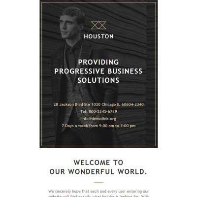 Business Responsive Nieuwsbrief Template