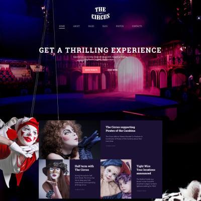 Circus Responsive Joomla Template