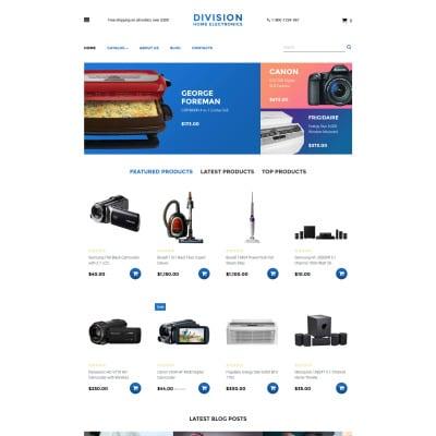 Electronics Store Responsive VirtueMart模板