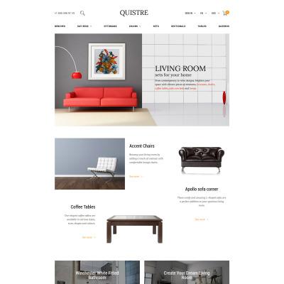 Interior & Furniture Responsive PrestaShop Tema