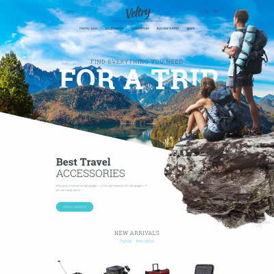 Travel Guide Responsive PrestaShop Tema
