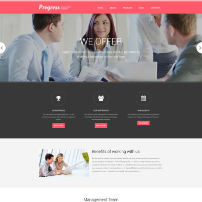 Management Company Responsive Drupal Template