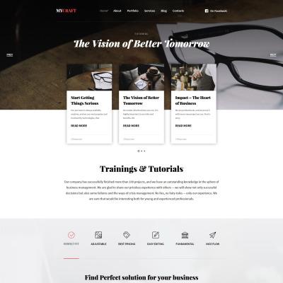 Thème WordPress adaptatif  pour magasin artisanal