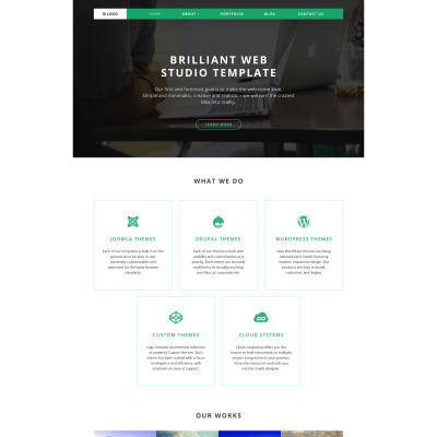 Web Design Responsive Tema WordPress