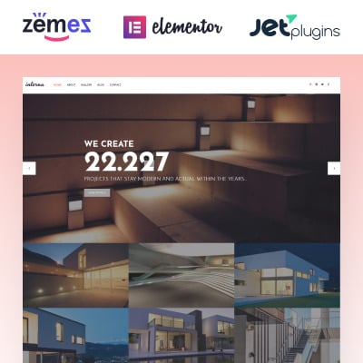 Architecture Responsive Tema WordPress