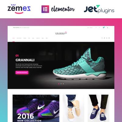 Shoe Store Responsive WooCommerce Motiv