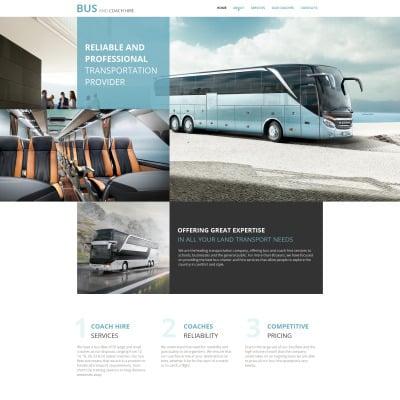 Transportation Moto CMS HTML Template