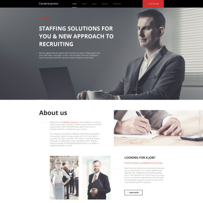 Career Education Moto CMS HTML šablona