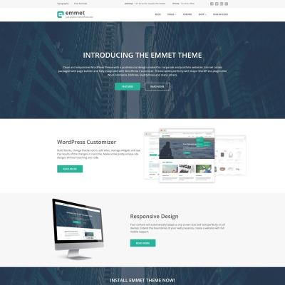 Thème WordPress adaptatif  pour site d'affaires et de services