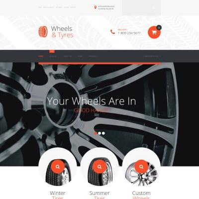 Wheels & Tires VirtueMart模板
