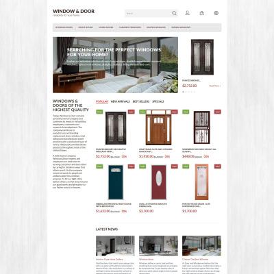 PrestaShop Theme für Fenster