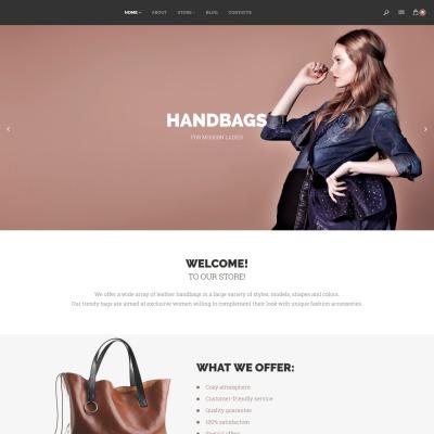 Responsives WooCommerce Theme für Handtasche