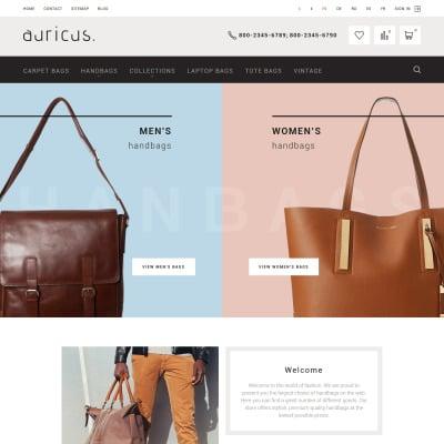 Handbag Responsive PrestaShop шаблон