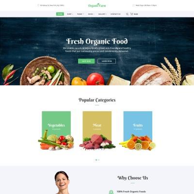 Food & Drink Responsive Weboldal Sablon